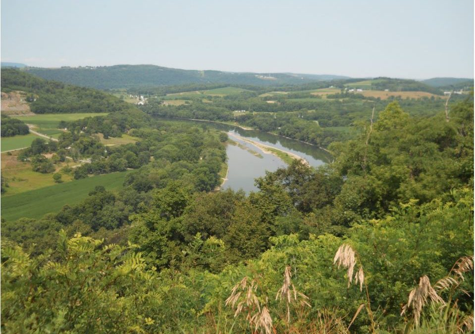 Playles: Wyalusing Rocks along Susquehanna River
